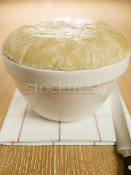 Steamed Suet Pudding in a Pudding Basin Stock photo © monkey_business
