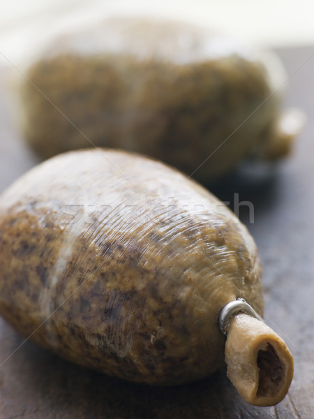 Whole Haggis on a Chopping Board Stock photo © monkey_business