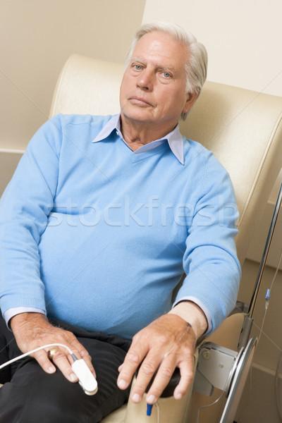 Сток-фото: портрет · пациент · медицинской · здоровья · наркотики · старший