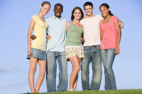 Portrait Of A Group Of Teenagers Outdoors  Stock photo © monkey_business