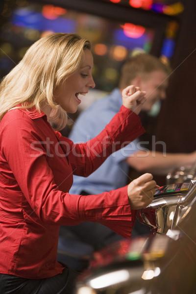 женщину победа выиграть казино Сток-фото © monkey_business