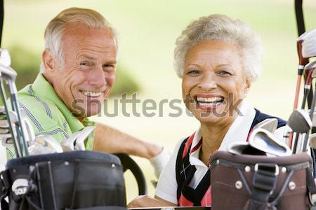 Male Friends Enjoying A Game Of Golf Stock photo © monkey_business