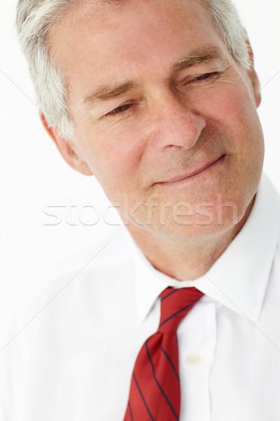 Senior zakenman hoofd schouders werk werken Stockfoto © monkey_business