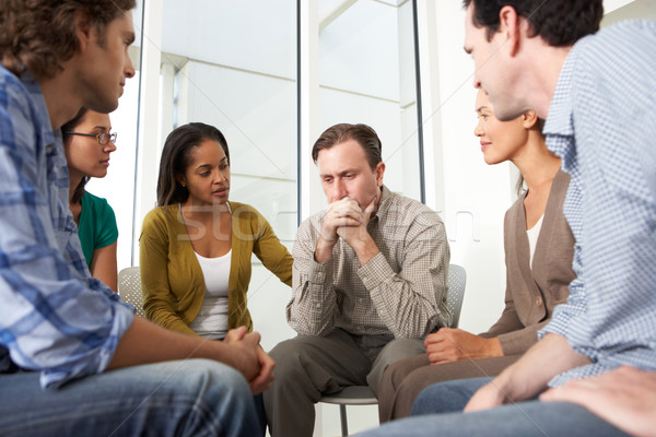 Meeting Of Support Group Stock photo © monkey_business