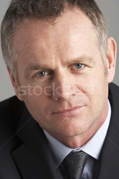 Сток-фото: портрет · бизнесмен · бизнеса · человека · фон