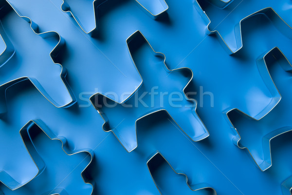 Airplane Shaped Cookie Cutters Stock photo © monkey_business