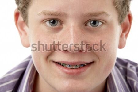 Portrait Of Pre-Teen Girl Smiling Stock photo © monkey_business