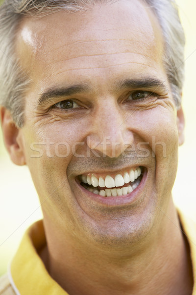 Portrait souriant caméra visage homme Photo stock © monkey_business