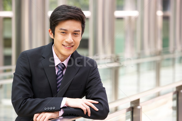 Portrait Of Chinese Businessman Outside Office Stock photo © monkey_business