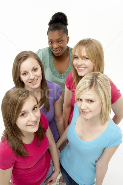 Gruppo adolescente ritratto giovani adolescente Foto d'archivio © monkey_business