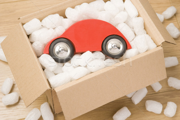 Car In A Box Stock photo © monkey_business