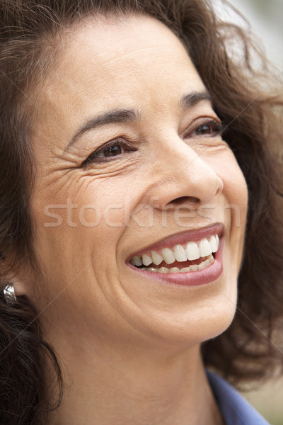 Portrait Of Middle Aged Woman Smiling Stock photo © monkey_business