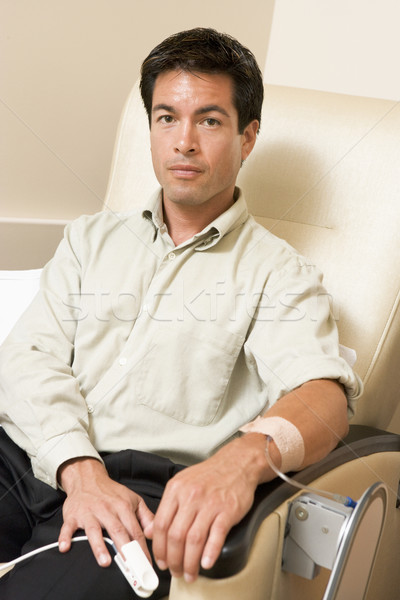 Portrait Of A Patient Being Monitored Stock photo © monkey_business