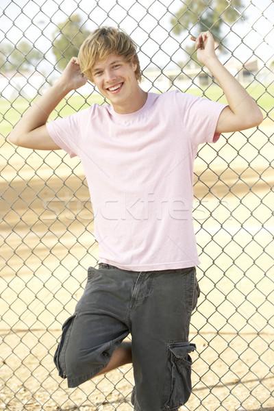 Grupo adolescentes homem mulheres feliz Foto stock © monkey_business