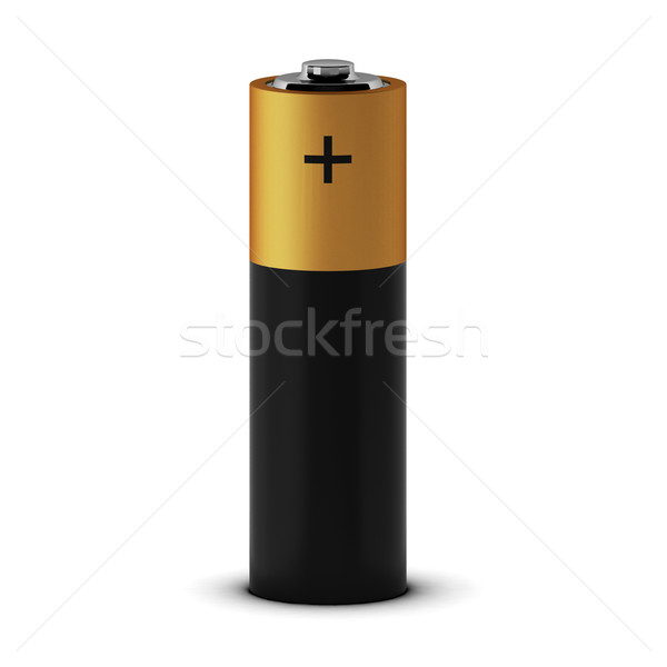 3d render of battery Stock photo © montego