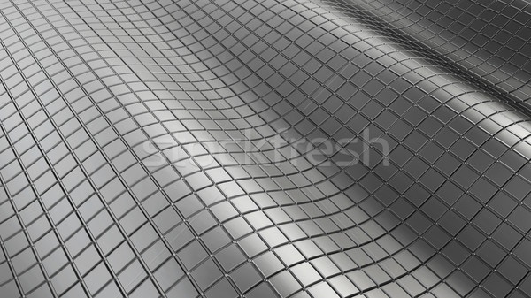 abstract chrome background Stock photo © montego