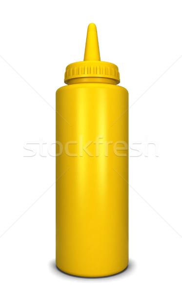 Mustard bottle Stock photo © montego
