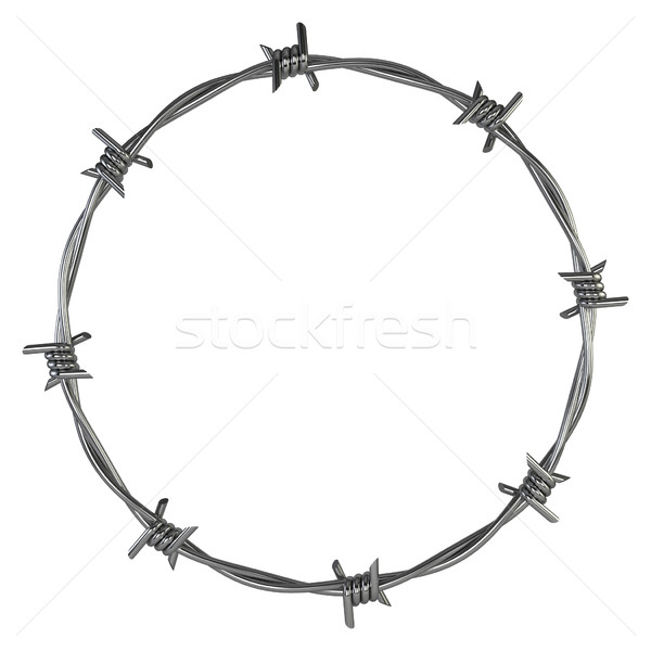 Barbed wire Stock photo © montego