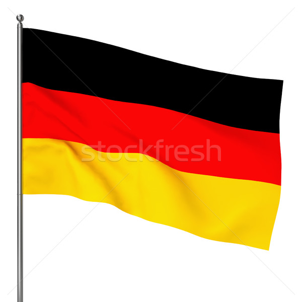 German flag Stock photo © montego