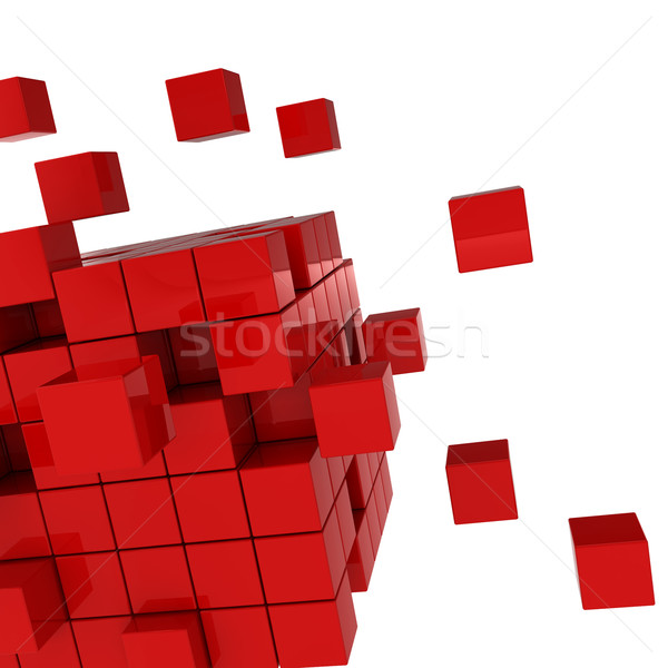 cube chaos Stock photo © montego