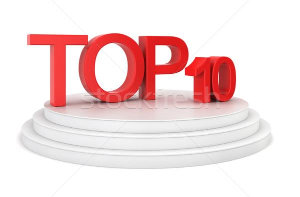 Top ten Stock photo © montego