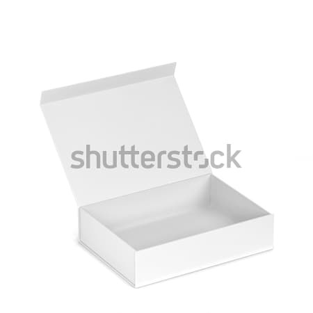 Blank box Stock photo © montego