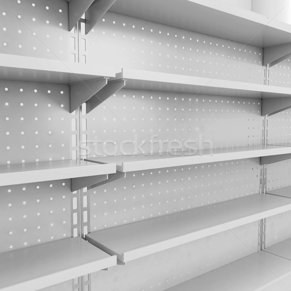 Store illustrazione 3d isolato bianco business Foto d'archivio © montego