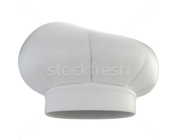 Szakács sapka 3d illusztráció izolált fehér étel divat Stock fotó © montego