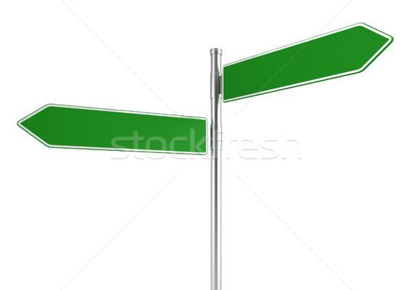 Directional road sign Stock photo © montego
