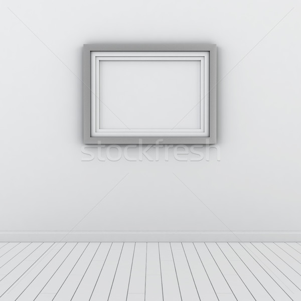Modern frame on the wall Stock photo © montego