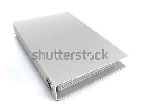 White binder Stock photo © montego