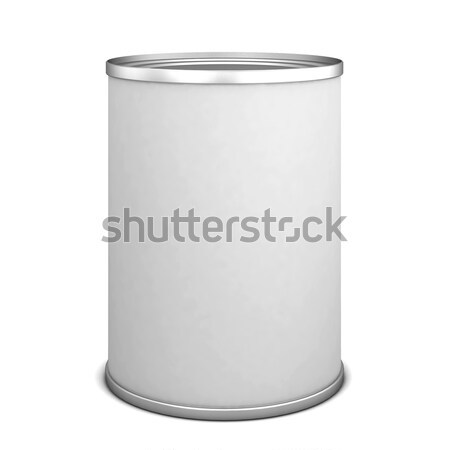 Tin can Stock photo © montego