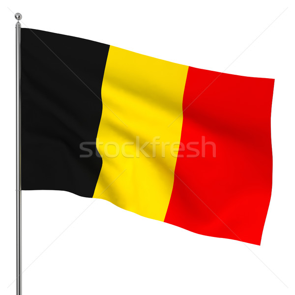 Belgian flag Stock photo © montego