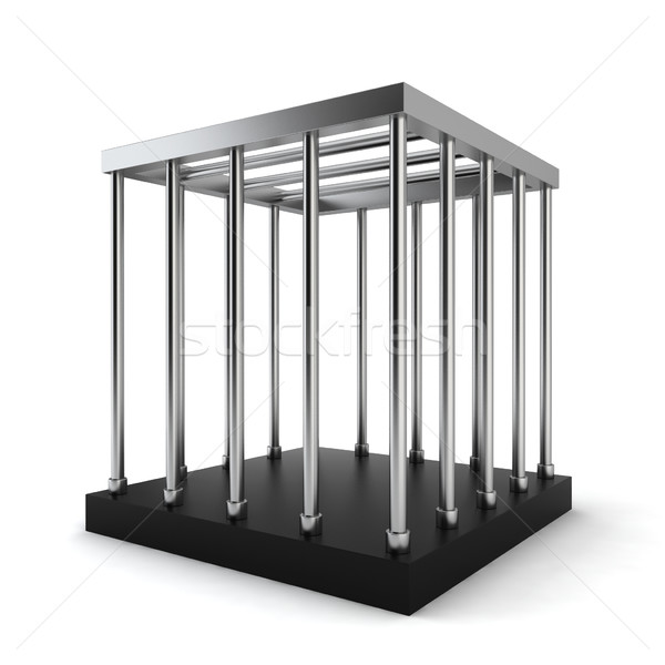 Steel cage Stock photo © montego