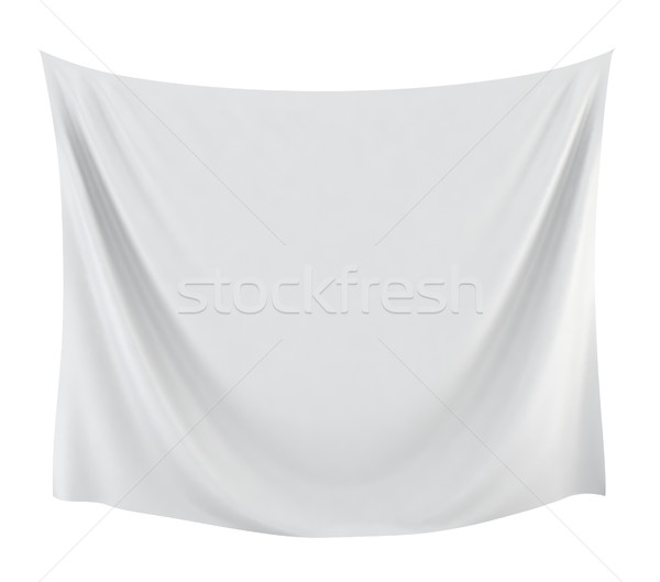 Textile banner Stock photo © montego