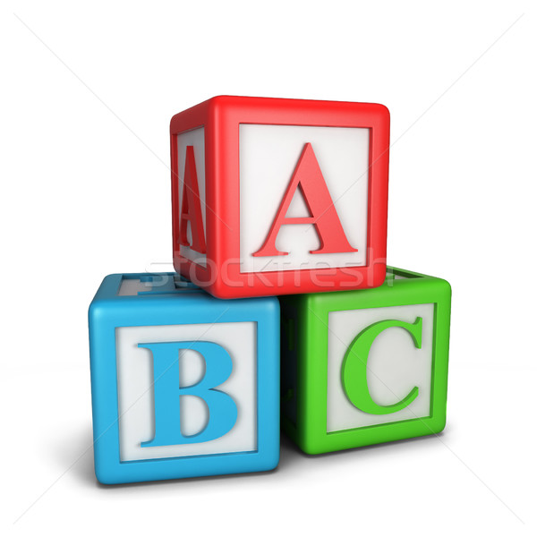 Abc blocks Stock photo © montego