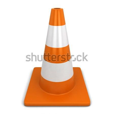 Traffic cone Stock photo © montego