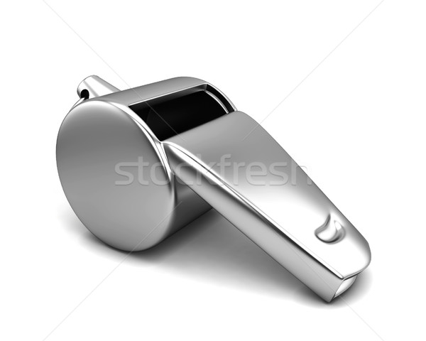 Silver whistle Stock photo © montego