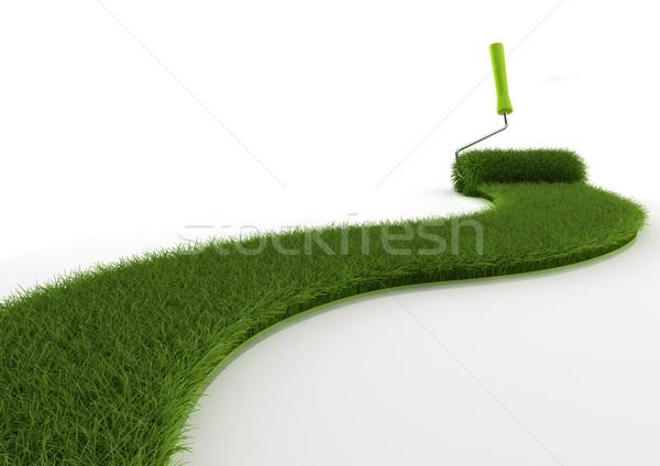 Grass brush Stock photo © montego