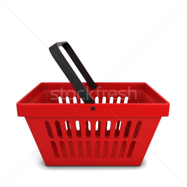 Red basket Stock photo © montego