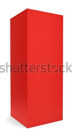 Blank red box Stock photo © montego