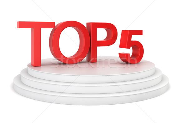Top five Stock photo © montego