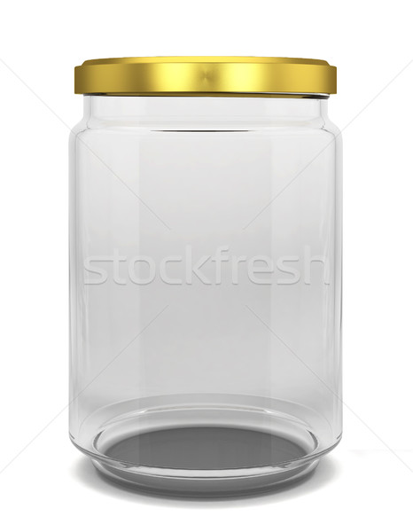 Glass jar Stock photo © montego