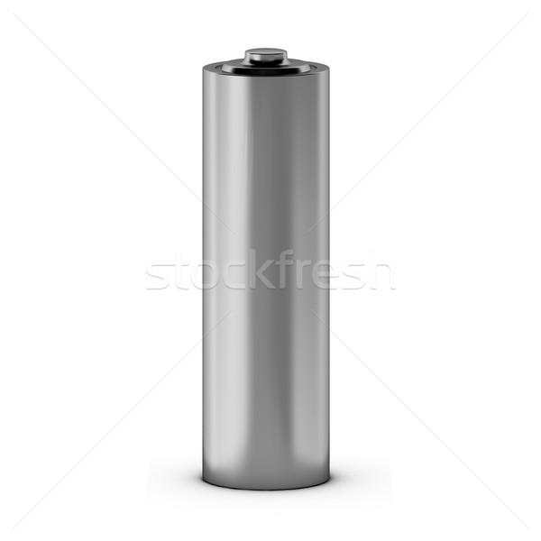 3d render of battery Stock photo © montego