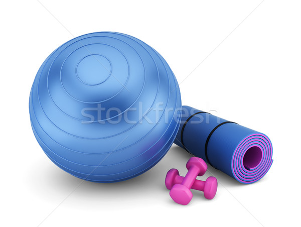Fitness equipment Stock photo © montego