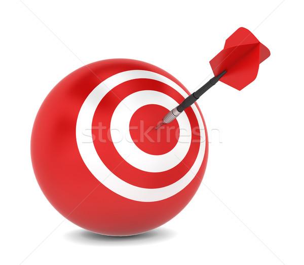 Dart hits aim Stock photo © montego