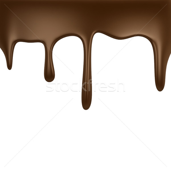 Chocolate dripping  Stock photo © montego