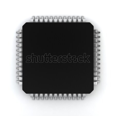 Microprocessor Stock photo © montego