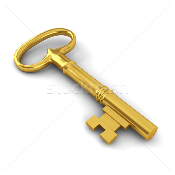 Long key Stock photo © montego