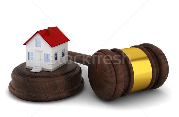 House auction concept Stock photo © montego